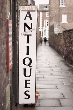 I'd love to stumble upon a British antique store..