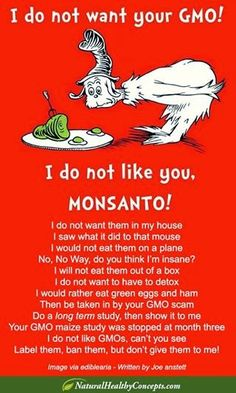 A perfect way to express non-#GMO views. Wouldn't you agree? :) ORGANIC World - Community - Google+