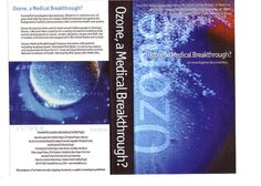 Ozone a Medical Breakthrough DVD Cover