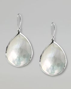 Mother-of-Pearl Teardrop Earrings, Large by Ippolita at Neiman Marcus.