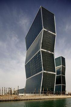 Zig Zag Towers | Doha, Qatar | MZ & Partners | photo by ngphoto