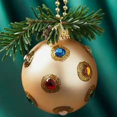 Bejeweled Christmas Ornament