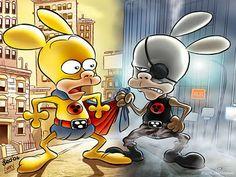 Rat-man - Leo Ortolani - L'Antro Atomico del Dr. Manhattan