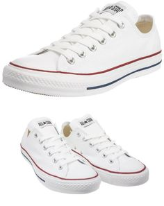 05fbccf84137 Converse Men s Chuck Taylor All Star Low Top Sneaker Optical White 5 M