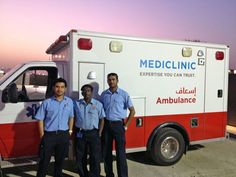 Mediclinic Ambulance Service recently provided emergency medical support at the 80s Rewind concert held at Dubai Festival City. Our ambulance team - Padmanaban, Jay and Sufian - were proud to be there with our newly marked ambulance sporting the new Mediclinic brand. Mediclinic Ambulance Services is one of the few private ambulance services in Dubai licensed to provide EMS services at large events. #Dubai #UAE #Ambulance #EMS #emergency #80srewind #MediclinicME #doctors #healthcare #health