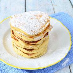 Yoghurt pancakes. Ik gebruik kokosbloesemsuiker In dit recept.