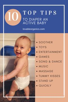 Tired of diaper time becoming a gymnastics match? Here are my personally tested top 10 tips for changing an active baby's diaper. Diaper Changing Station, Diaper Changing Pad, Newborn Baby Needs, Newborn Diapers, Baby Hacks, Dance Music, Parenting Hacks, How To Become, Bacterial Vaginosis