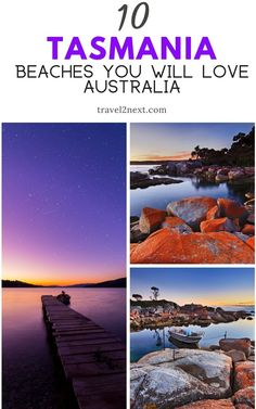10 Best Tasmania Beaches. Discover sponges, weedy sea dragons, rock lobsters, abalone and other treasures of the sea. There are guided trips and local operators also offer some of Australia's best game fishing. #water #summer #tasmania #nature #beaches #freycinet #australia #travel Largest Countries, Countries Of The World, Western Australia, Australia Travel, Weedy Sea Dragon, Marine Reserves, Lobsters, Great Vacations, Great Barrier Reef