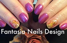 O Autumn, laden with fruit, and stain'd With the blood of the grape... #nailtech, #naildesign, #nailporn, #nailswag, #polipolish, #tengel, #fall