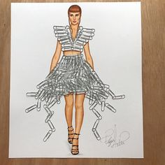 Paperclip Couture by Edgar Artis
