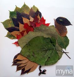 Leaf+crafts+for+fall