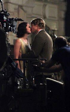 A kiss at midnight in Paris!