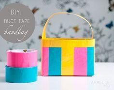 diy: duct tape bag | Moms Best Network