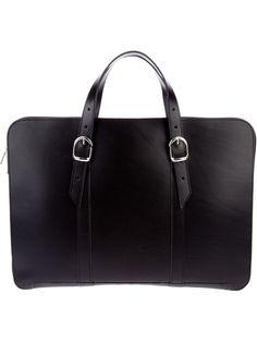 RUDI RABITTI - slim leather briefcase 7
