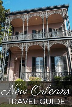 New Orleans travel guide - Plantation info + how to get around
