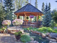 Patio With Gazebo | FrontDoor.com