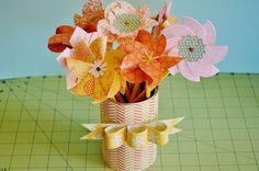 Paper Flower Bunch
