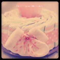 Little Cake  ❤ mini torte di pannolini ❤ diaper cakes ❤