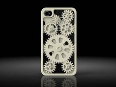 """male - This case uses gears, an emphasis on technology. In contrast to most feminine cases, it simply doesn't have any """"pretty"""" qualities."""
