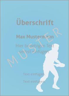 Muster Sporturkunde, Urkunde, Tischtennis Sportarten Grafik Tischtennis