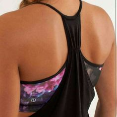Lululemon Spring Has Sprung No Limits Tank Excellent condition. lululemon athletica Tops Tank Tops