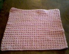 This tiny afghan is perfect for a new bundle of joy. You'll love the soft touch of this Thermal Stitch Preemie Afghan.