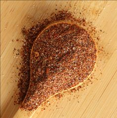 Rachel Ray's large-batch homemade taco seasoning recipe (low sodium, no preservatives!)