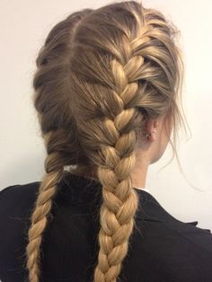 Simple french braids