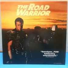 Mad Max 2: The Road Warrior (1981) Laserdisc LD [13346] Mel Gibson Apocalypse