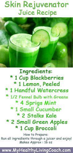 recipe: green juice recipe for skin [22]