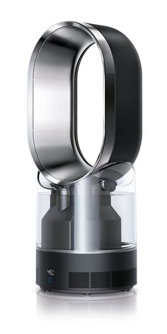 This Dyson Hygienic Mist humidifier measures temperature and humidity to keep your environment comfortable. Ultrasonic Cool Mist Humidifier, Air Humidifier, Temperature And Humidity, Hard Water, Water Tank, Drip Coffee Maker, Phone Holder, Ultra Violet, Product Design