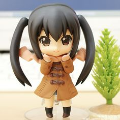 Collaborate Azunyan and Yuki Nagato Nendoroid.