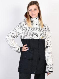 e0a445daec6 Dc CRUISER SILVER BIRCH MUD CLOTH A zimní dámská bunda   Swis-Shop.cz