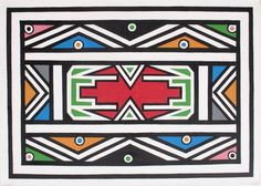 Esther Mahlangu, 81 years old artist from Ndebele, South Africa African Theme, African Art, Bronze, Pattern Art, Art Patterns, Pattern Design, Fashion Painting, Square Quilt, Art Fair