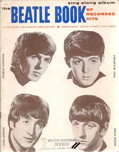 The Beatle Book of Recorded Hits 1984 Publication by Pegalee, $35.00