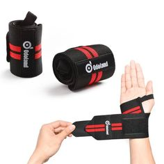 XRUSH Lifting Grips Pro,Weight Lifting Gloves Power Grip Non-slip with Adjustable Neoprene Padded Wrist Wraps for Deadlifts,Weight Lifting,WOD,Pullups