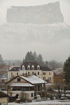Chichilianne. Le Mont Aiguille, à Chichilianne (Vercors).