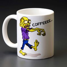 Ibacana - Caneca Zombie Wants Coffee
