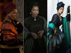 great colours and belts - marie laveau costume. coven