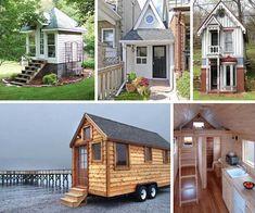 small homes, small homes. Small homes for tiny living