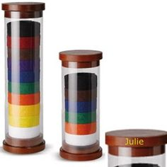 Cylinder Karate Belt Display - not your typical rack-style display.
