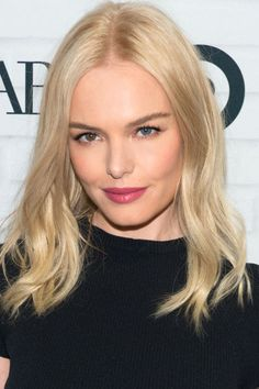 Kate Bosworth paired a perfect pink pout and tousled waves at the launch party for the @WhoWhatWear at @Target collection #MyWhoWhatWear
