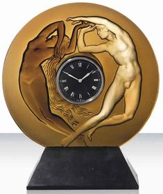 Lalique Le Jour Et La Nuit Clock