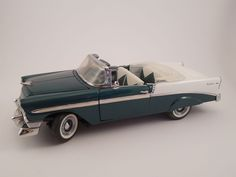 Franklin Mint Die Cast 1:24 Scale Model 1956 Chevy Belair Car  #FranklinMint #Chevy