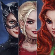 Gotham Sirens: VIP by daekazu.deviantart.com on @DeviantArt