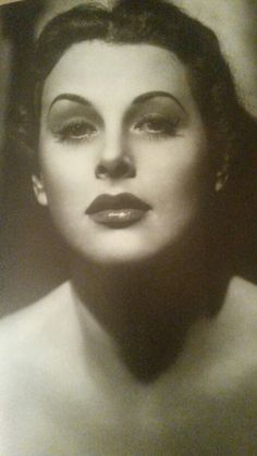 Hedy Lamarr in a 1946 portrait by UA in The Strange Woman. From THE IMAGE MAKERS Sixty Years of Hollywood Glamour, 1982.