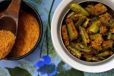 Podi Potta Pachhai Kathirikai | Brinjal Stir Fry Recipe With Curry Powder