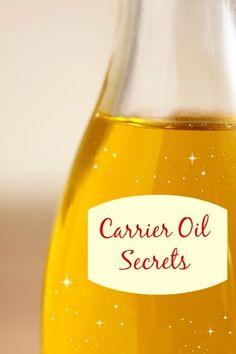 Carrier oil properties