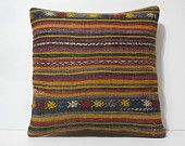 20x20 handmade cushion DECOLIC couch pillow covers bed pillows custom cushions bed throw knitted throws pillows rug 14343 kilim pillow 50x50