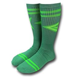 Save $5 on any order over $25 order when you share our page to your favorite social media network. Discount does not apply to HeroBox Green Arrow Symbol Crew Socks